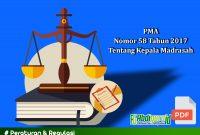 Peraturan Menteri Agama (PMA) Nomor 58 Tahun 2017 Tentang Kepala Madrasah